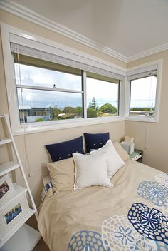 Bring the cool breezes in whilst allowing hot air to escape through the double opening of a stylish double-hung window from Wideline. Double Hung Windows, Minimalism, Doors, Simple, Furniture, Design, Home Decor, Decoration Home, Room Decor