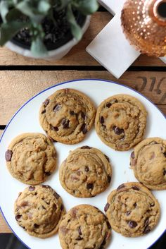 Speculoos Chocolate Chip Cookies | Butter Baking