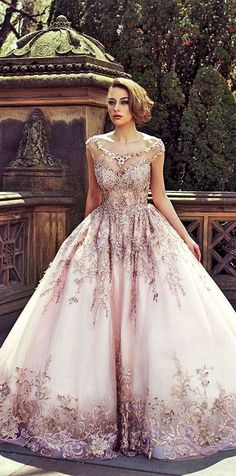 Various Ball Gown Wedding Dresses For Amazing Look See more: #weddings