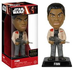 Star Wars - Finn Wacky Wobbler Figure (The Force Awakens)