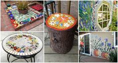 You can make mosaics almost from everything, old or new recycled materials, mirrors, buttons, glass or tiles. Plus, you can enhance anything you want, from flooring and facade to chairs and benches. Mosaics are a great way to add more color to your outdoor living space, especially in winter when plants and flowers are not thriving. If you want to make your space more inviting, colorful and charming, I advise you to take a look at the gallery below and get inspired to make something on your…