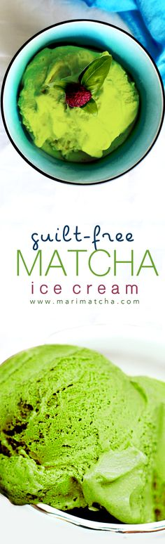 Here at MariMatcha Tea, we are obsessed with Matcha Ice Cream, which is why we love experimenting with healthy, guilt-free, ice cream recipes using whole, all