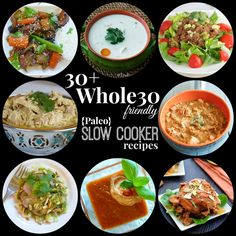 Easy Paleo crock-pot recipes that are Whole30 friendly