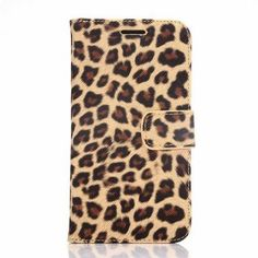 PU and PC Material Leopard Print Pattern Protective Cover Case for Samsung Galaxy S6 G9200 #men, #hats, #watches, #belts, #fashion