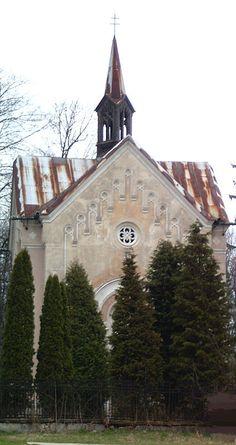 NeogothicRoman Catholicchapel inMošovce,Slovakia