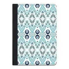 A iPad Case featuring the Ikat Java Blue by amysia for high quality art with super fast delivery and discount offers. Ikat Print, Java, Ipad Case, Prints, Pattern, Blue, Patterns, Model, Swatch