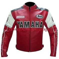 rojo yamaha 0820 motociclista motocicleta moto cuero de abrigo chaqueta racing blindado - Categoria: Avisos Clasificados Gratis  Estado del Producto: Nuevo con etiquetasYamaha 0820 Red Leather Cowhide Motorcycle Biker Jacket13mm thickness and drum dyed LeatherCustom made with pictures are of exact jacket as shown Jackets are made with high quality Cowhide A GRADE Leather Jackets are made with full safety standard for bikers, high quality cowhide 13 mm thickness and is drum dyed leather The…