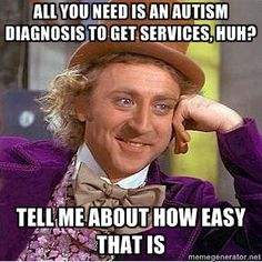 people think its so easy to get a diagnosis...not so much