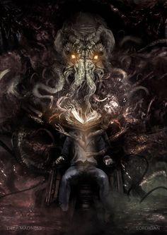 Ward by Pedro Sena Art Cthulhu, Call Of Cthulhu Rpg, Arte Horror, Horror Art, Dark Fantasy Art, O Kraken, We All Mad Here, Lovecraftian Horror, Eldritch Horror