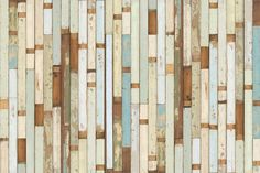 Dutch designer Piet Hein Eek brings his famous scrapwood style to these incredible wallpapers. They emulate planks of wooden panelling for your walls, with none of the hassle of real wood. Perfect for a feature wall. The top-quality FSC certified paper is available in four different wood plank types which aren't printed in any particular pattern.