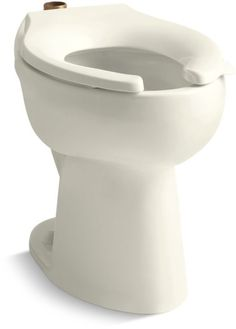 Kohler K-4368 Highcliff Elongated Toilet Bowl Only with Top Spud