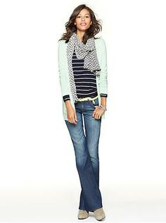 It's awesome to dress in layers during the colder months! Found this one on the Gap's website, but it's just as easy to get the same look shopping at stores that don't charge out the butt for their clothing! Try forever21, Love Culture, Charlotte Russe, and stores like these!