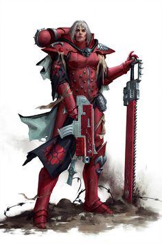 Grant Griffin,artist,Adepta Sororitas,sisters of battle Warhammer 40k Art, Warhammer Fantasy, Fantasy Armor, Sci Fi Fantasy, Fantasy Characters, Female Characters, Cyberpunk, 40k Sisters Of Battle, Character Art