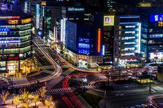 Kyoto Station Trails by Daniel Hardinge on 500px