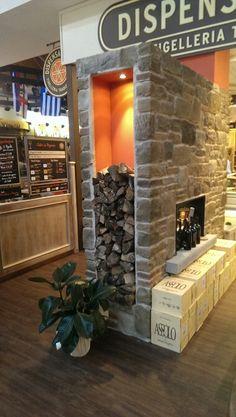 Porta legna in pietra