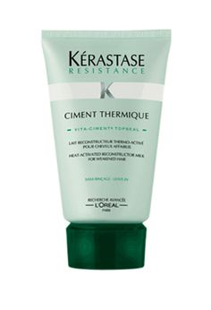 Kerastase Ciment Thermique  A Heat Activating product that is a heat protectant which helps strengthen your hair once heat is applied to it... A must have!