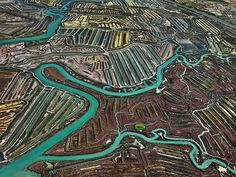 Epic Photos Expose Mankind's Uneasy Relationship With Water | Salinas in Cádiz, Spain, 2013 Edward Burtynsky | WIRED.com