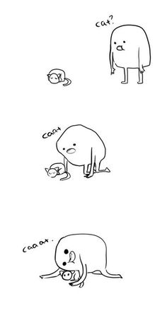 I've seen someone do this before... and as someone who doesn't like cats I just don't understand it