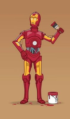 """Iron-3PO (or """"Aspirations of Greatness?"""") Via: Star Wars Daily"""
