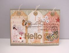 Jacqueline's Tag Card Challenge Card 2 by KarenCreatesCards, via Flickr