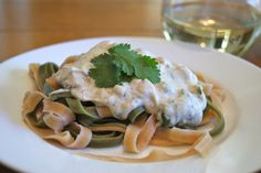 Cashew Cream Pasta Alfredo is better than any dairy based sauce. Delicious and so easy!