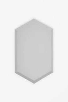 COS HAY Kaleido medium metal tray in Light Grey