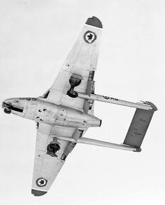 Military Jets, Military Aircraft, Avro Arrow, De Havilland Vampire, Royal Canadian Navy, Airplane Fighter, Canadian History, Aircraft Photos, Vampires