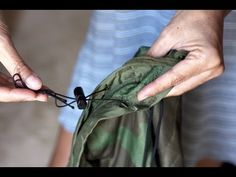 DIY Hiking Backpacking Gear Hammock Underquilt How to - YouTube