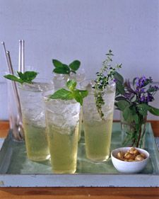 herbal spritzers...