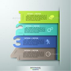 Modern Infographics Paper Template — Photoshop PSD #advertising #option • Available here → https://graphicriver.net/item/modern-infographics-paper-template/13874713?ref=pxcr