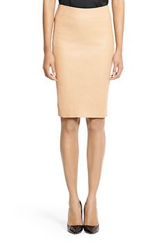 The leather Panel Marta pencil skirt is chic all year round. Fully lined with hidden side zip and hook & eye closure. Fit is true to size. Skirt Pants, Dress Skirt, Professional Attire, Young Professional, Expensive Clothes, Work Chic, Classic Outfits, Work Attire, Dress Me Up