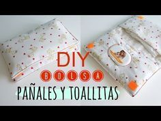 Cómo hacer un estuche para toallitas de bebé - DIY baby wipe case - YouTube Sewing For Kids, Baby Sewing, Diy For Kids, Patchwork Quilt, Patchwork Baby, Baby Wipe Case, Wipes Case, Baby Set, Films Youtube