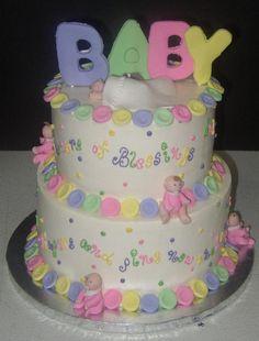 Baby Shower Cakes for Girls | Cake 15 - Gaby Pasteleria