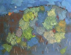 The Red Hill of Jerusalem by Mordecai Ardon