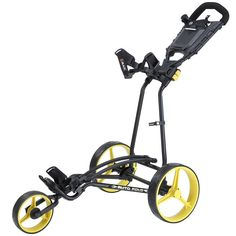 Offering a stable construction this high quality TI 1000 autofold plus golf trolley push cart by Big Max features an adjustable bag bracket that is suitable for every size and weight golf bag!