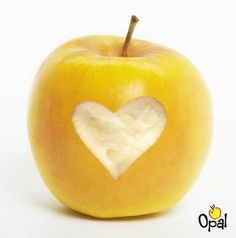 Opal - A fun new organic apple that doesn't brown! Also helps youth non-profits with grants. Opal Apples, Save Our Earth, Beauty Shots, Go Green, Organic, Invitations, Fruit, Natural Living, Ecology