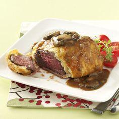 Individual Beef Wellingtons Recipe   Taste of Home Recipes