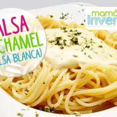 Como hacer Salsa Bechamel o Salsa Blanca Salsa Bechamel Recetas, Ice Cream Party, Ravioli, Noodles, Spaghetti, Chicken, Ethnic Recipes, Food, Shells