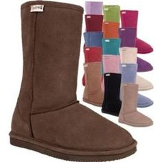 Bearpaw Boots. Cheaper than Ugg but just as cute! All about ballin' on