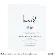 Find customizable Baby Q Barbecue invitations & announcements of all sizes. Pick your favorite invitation design from our amazing selection. Harry Potter Invitations, Zazzle Invitations, Gender Reveal Invitations, Baby Shower Invitations, Minimalist Baby, Shower Party, Invitation Design, Pink Blue, Rsvp