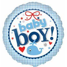 12FT baby shower party foil bannière bleu Umbrellaphants party supplies boy