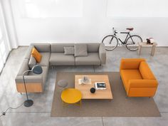Sofas | Seating | L-Sofa | Giulio Marelli | Jérôme Gauthier. Check it out on Architonic