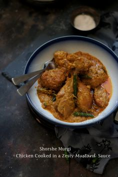 Shorshe Murgi: Chicken Cooked in a Zesty Mustard Sauce | eCurry - The Recipe Blog