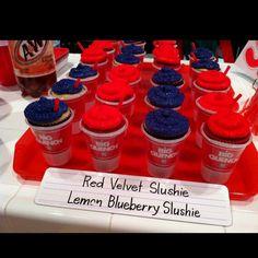 Glee Cupcakes (Slushie)