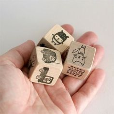 Storytelling dice! Find some blank wood blocks.. draw with sharpies some different things on each side. (people, places, food, toys etc..) Roll them each night at bedtime and get your kids to tell you a short story using all the things that come up. Great creative exercises!