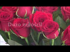 Najpiękniejsze życzenia urodzinowe z kwiatami - YouTube Happy Birthday, Rose, Flowers, Plants, Youtube, Asia, Humor, Happy Brithday, Pink