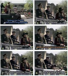 I know I've pinned this before, but this is the absolute BEST Doctor Who quote there is!!!