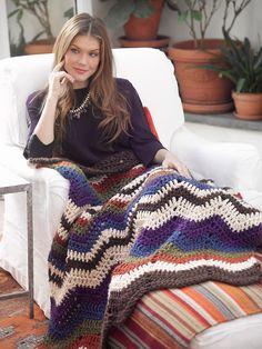 Ripple Afghan Pattern (Crochet)