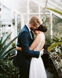 Wedding, greenhouse photo.