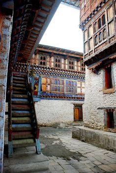 Building Stairs | Bhutan